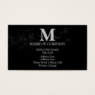 Monograms For BusinessCards Business Card