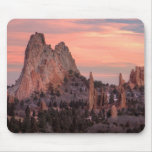 Monolith at Sunset Mouse Pad