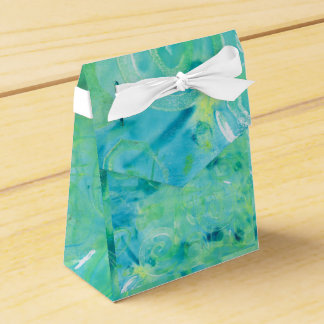 Monoprint Abstract 170267 Favor Box