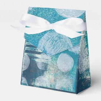 Monoprint Abstract Dark Turquoise 170255 Box