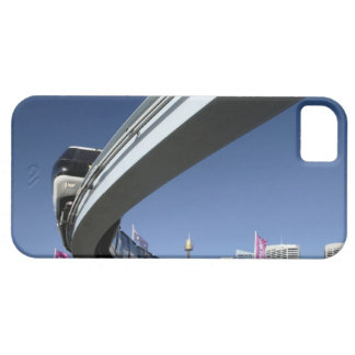 Monorail in Darling Harbor, Sydney, Australia iPhone 5 Case