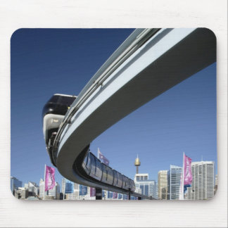 Monorail in Darling Harbor, Sydney, Australia Mouse Mat