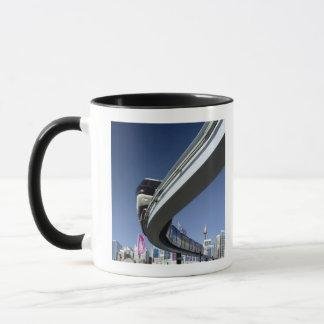 Monorail in Darling Harbor, Sydney, Australia Mug