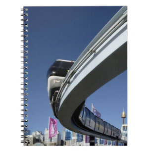 Monorail in Darling Harbour, Sydney, Australia Notebook