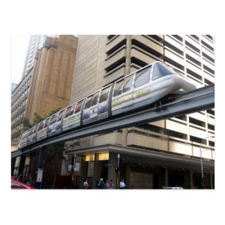 monorail sydney postcard