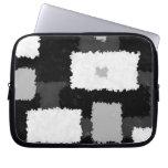 Monotone in Grey, Black & White Electronics Bag