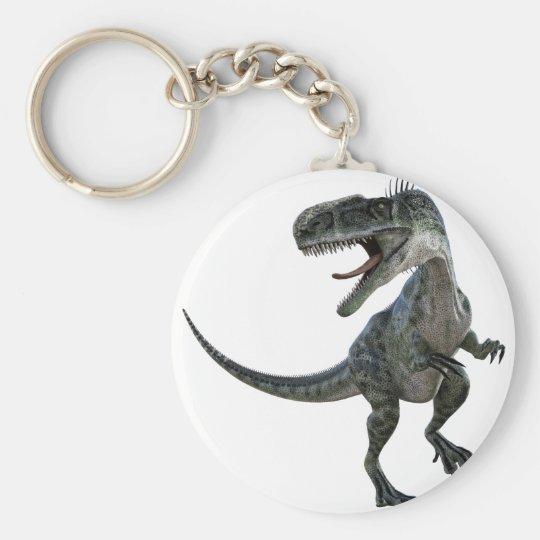 Monotophosaurus Looking Right Basic Round Button Key Ring