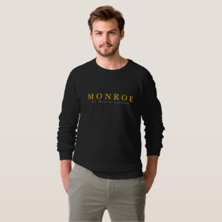 MONROE by Marco Clutch Men's Black Pullover