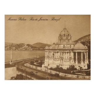 Monroe Palace Vintage Postcard