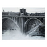 Monroe St Bridge 2 - Spokane Washington Print
