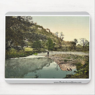 Monsal Dale, Doctor Rocks, Derbyshire, England mag Mouse Pad