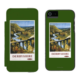 Monsal Dale, Train and Viaduct British Rail Incipio Watson™ iPhone 5 Wallet Case