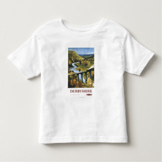 Monsal Dale, Train and Viaduct British Rail Toddler T-Shirt