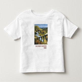 Monsal Dale, Train and Viaduct British Rail T Shirts
