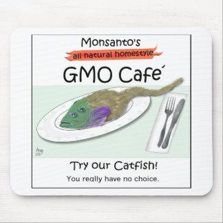 Monsanto's GMO Cafe Mouse Pad