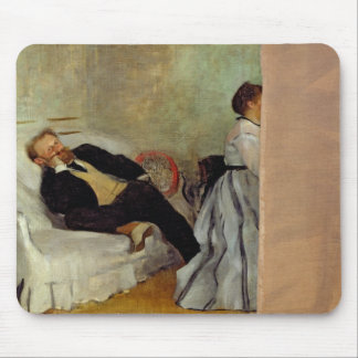 Monsieur and Madame Edouard Manet, 1868-69 Mouse Pads