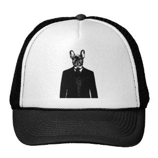 Monsieur avec Cravat Mesh Hats