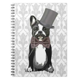 Monsieur Bulldog Spiral Note Book