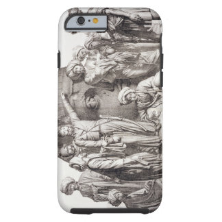 Monsieur Drovetti and his followers using a plumb Tough iPhone 6 Case