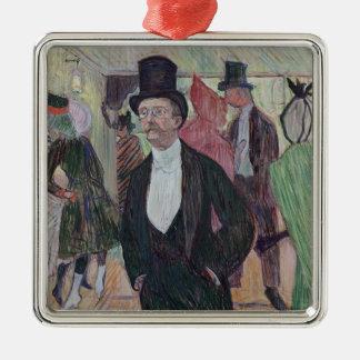 Monsieur Fourcade, 1889 Christmas Ornament