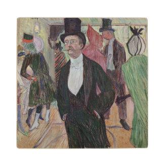 Monsieur Fourcade, 1889 Wood Coaster