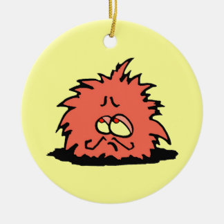 """MONSIEUR PUFF "" CHRISTMAS ORNAMENT"
