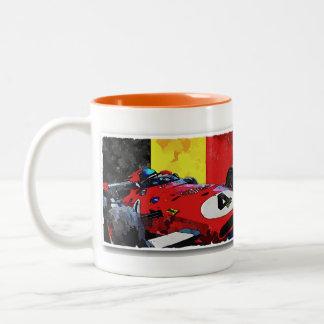"""Monsieur """"X """" Two-Tone Coffee Mug"""