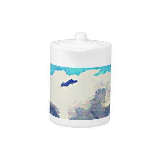 Monsoon Clouds in Oil Tea Pot