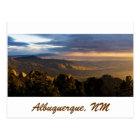 Monsoon over Albuquerque Postcard