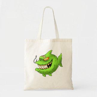 monstafish series tote bags