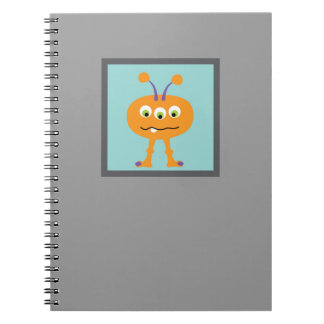 Monster Al Spiral Notebook
