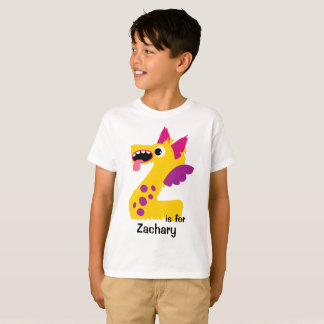 Monster Alphabet Personalized Tee Shirt
