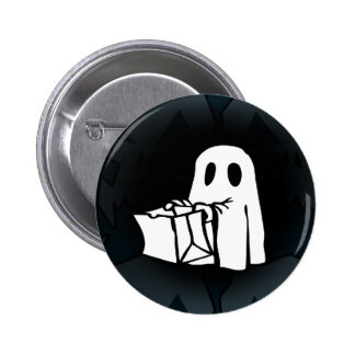 Monster and ghosts 6 cm round badge