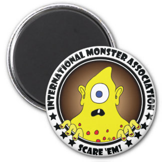 MONSTER ASSN. #3a Fridge Magnet