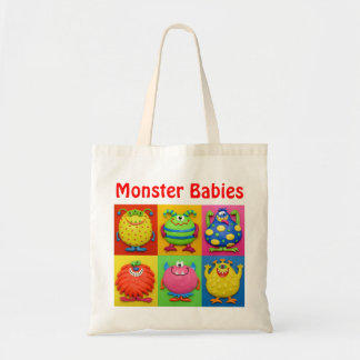 Monster Baby Shower Budget Tote Bag