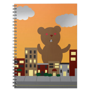 Monster Bear Notebook