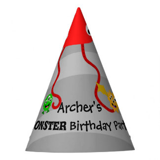 Monster Birthday Party Hat