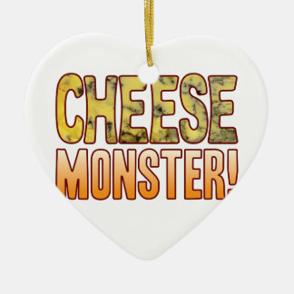 Monster Blue Cheese Ceramic Heart Decoration
