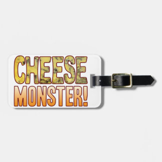 Monster Blue Cheese Luggage Tag
