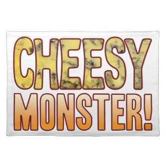 Monster Blue Cheesy Place Mats