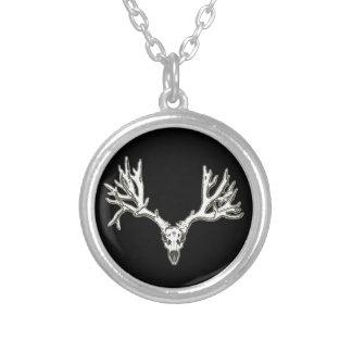 Monster buck deer skull pendant