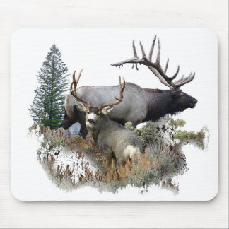 Monster bull trophy buck mouse mat