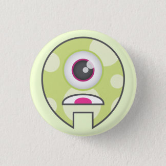 Monster Button: Cyclops 3 Cm Round Badge