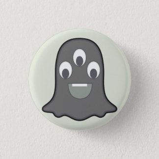 Monster Button: Ghost 3 Cm Round Badge