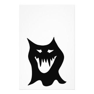 Monster Cartoon Black Full Color Flyer