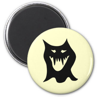 Monster Cartoon, Black. Magnet