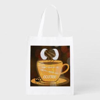 monster coffee shopping bag