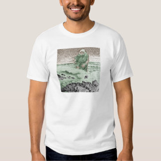 Monster Coming Out of the Water T-shirts