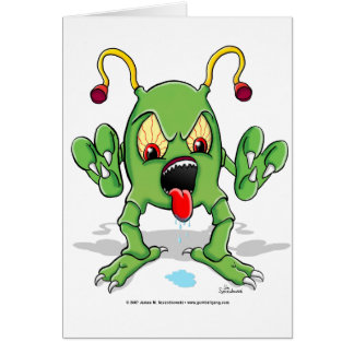 Monster Creature Card