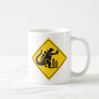 Monster Crossing Coffee Mugs